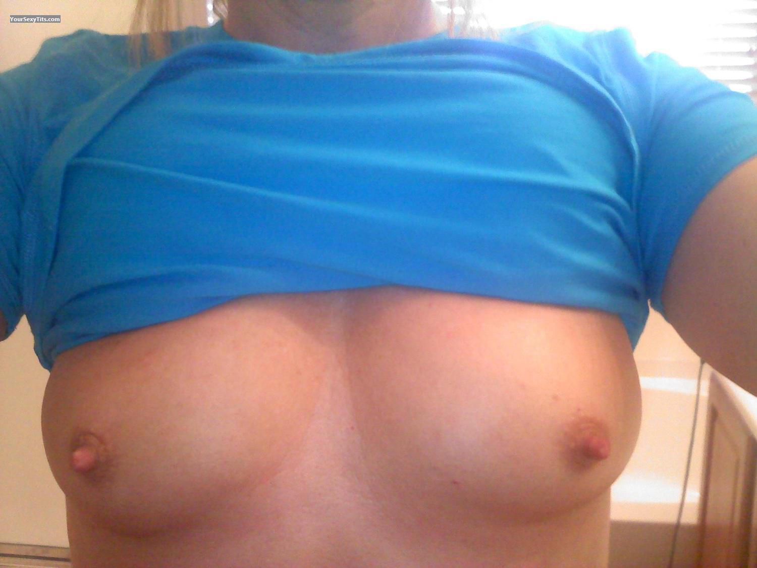Tit Flash: My Small Tits (Selfie) - AZ from United States